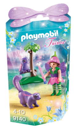 Playmobil - 9140 | Fairies: Fairy Girl With Animal Friends