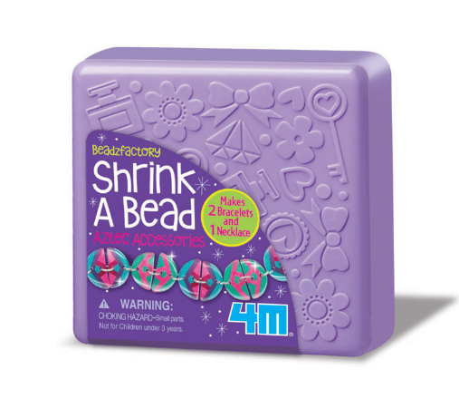 4M - 00-04697 | Shrink A Bead: Shrink Art Aztec Beads Make Jewellery