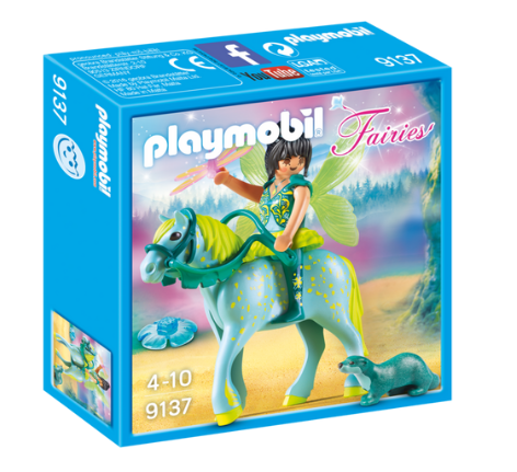 Playmobil - 9137 | Fairies: Enchanted Fairy With Horse