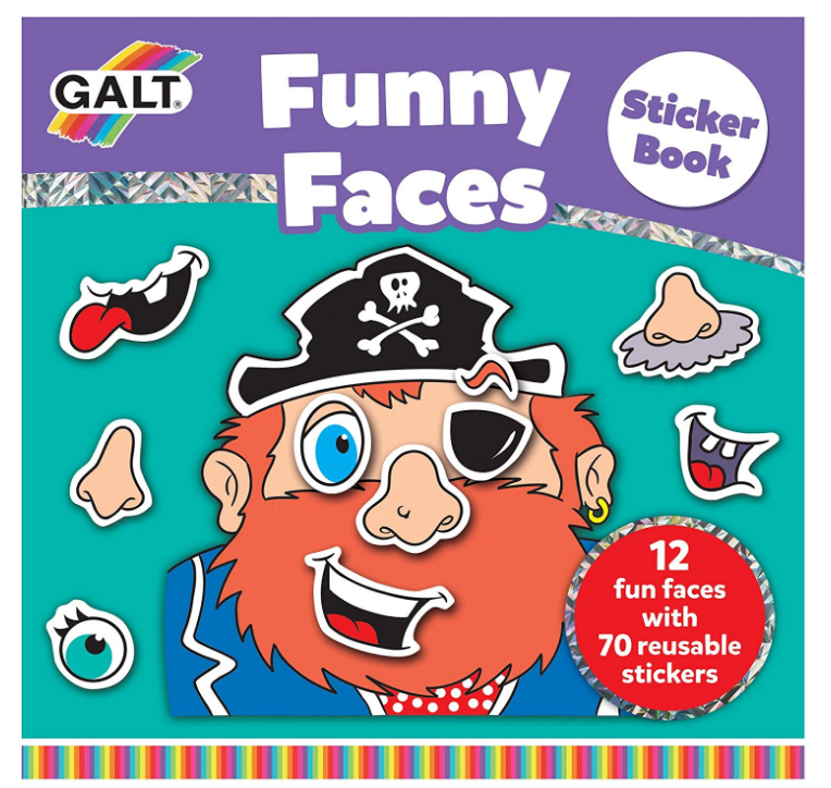 Galt - A3069A | Funny Faces Sticker Book