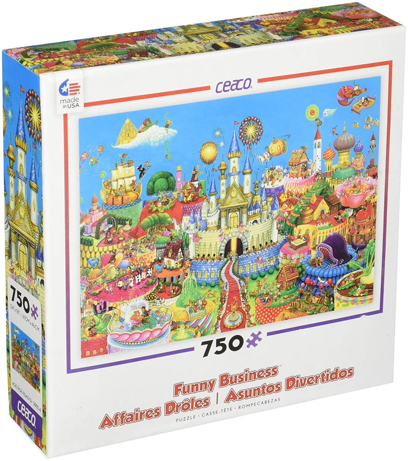 Ceaco - CEA2902 | Funny Business 750 pc Puzzle
