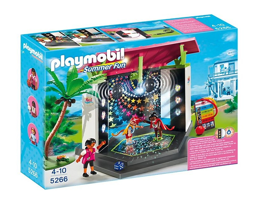 Playmobil - 5266 | Summer Fun: Children's Club With Disco