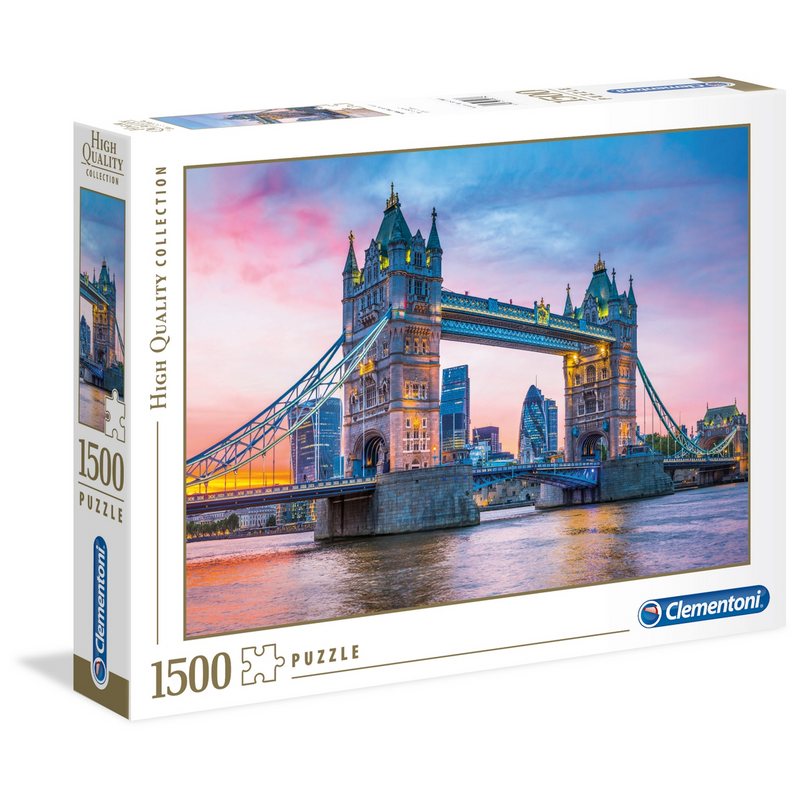 Clementoni - 31816 | 1500 Piece Puzzle Tower Bridge Sunset