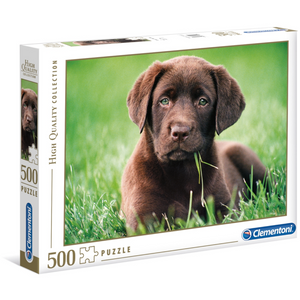 Clementoni - 35072 | Chocolate Puppy - 500 PC Puzzle