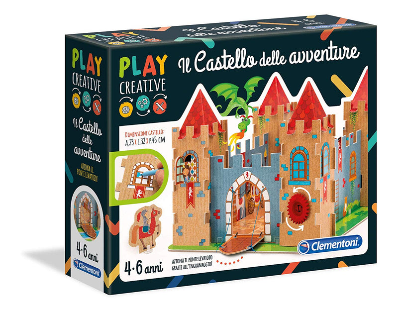 Clementoni - 15273 | Play Creative: Adventure Castle