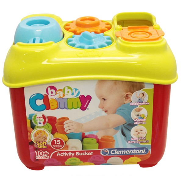Clementoni - 17171 | Baby Clemmy: Activity Bucket