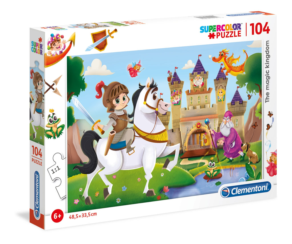 Clementoni - 271139 | Magic Kingdom (104 Piece Puzzle)