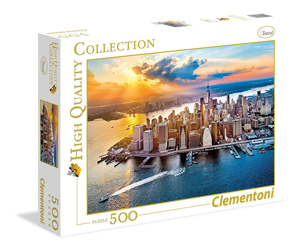 Clementoni - 35037 | New York (500 Piece Puzzle)