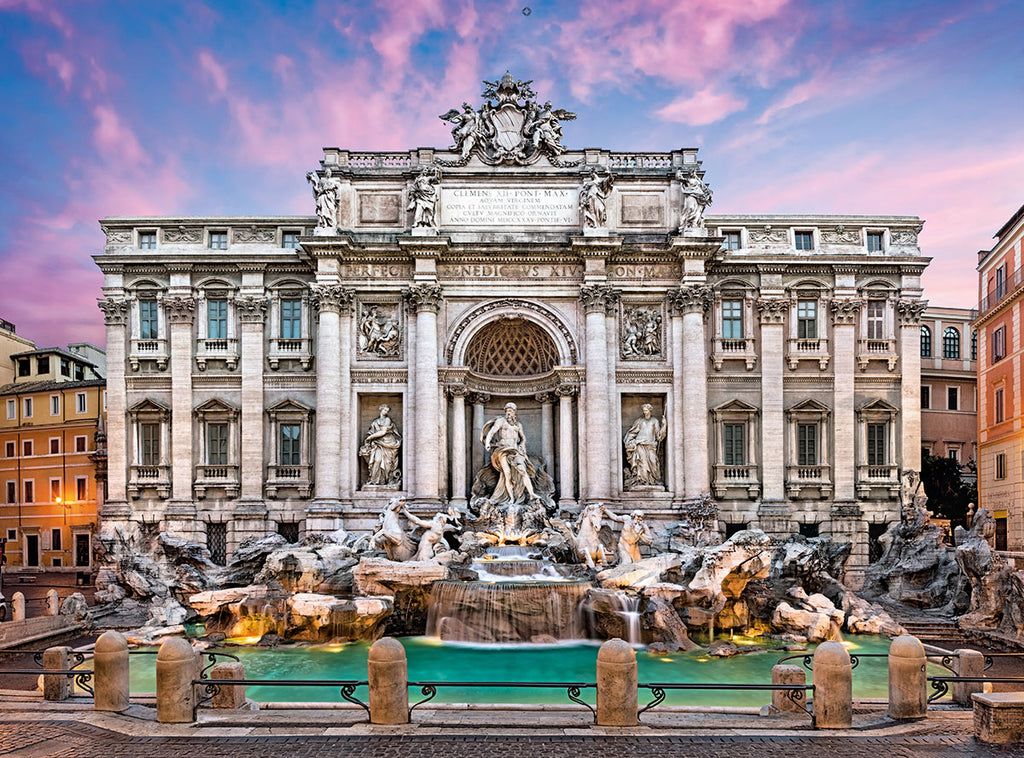 Clementoni - 350476 | Trevi Fountain (500 Piece Puzzle)