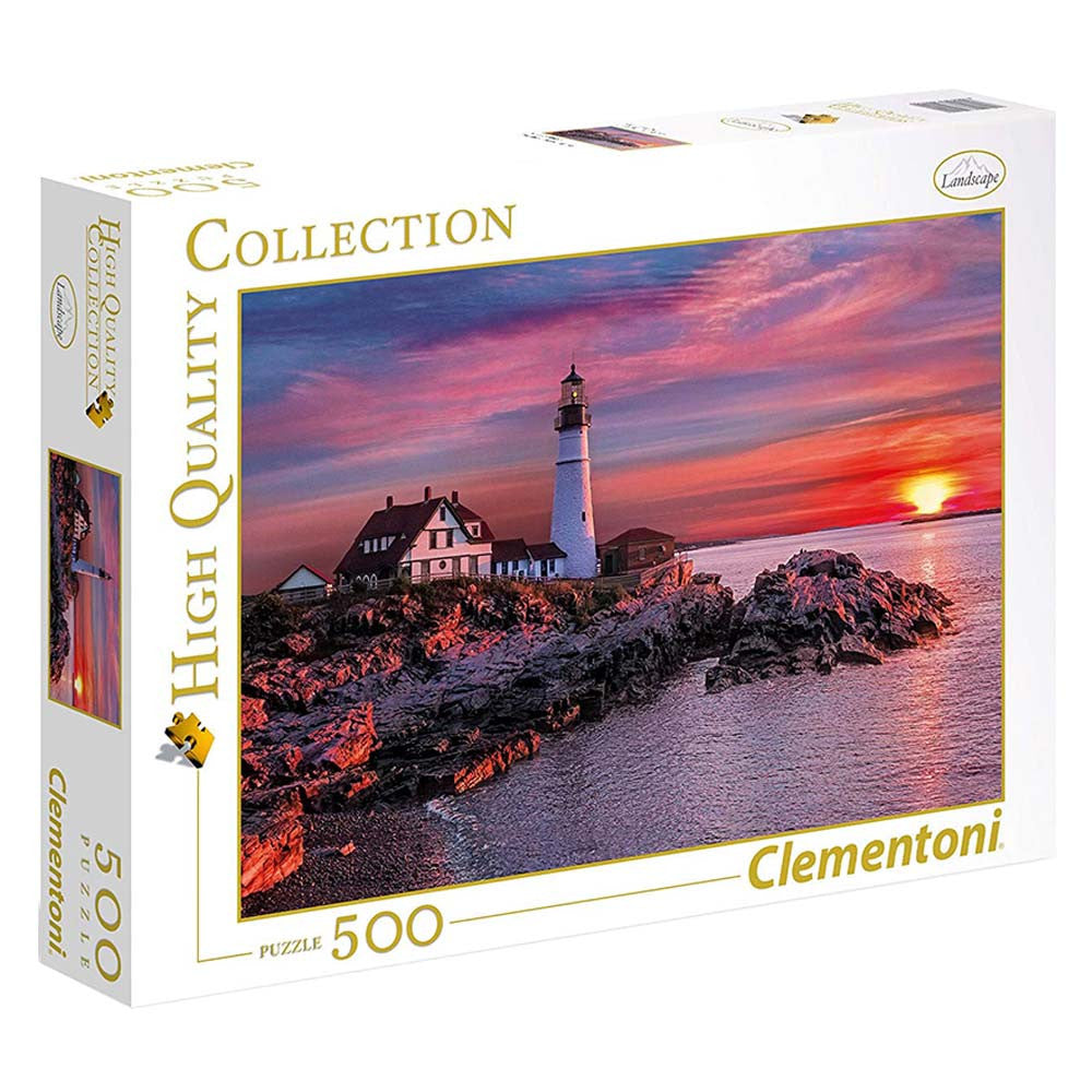 Clementoni - 350490 | Portland Head Light (500 Piece Puzzle)