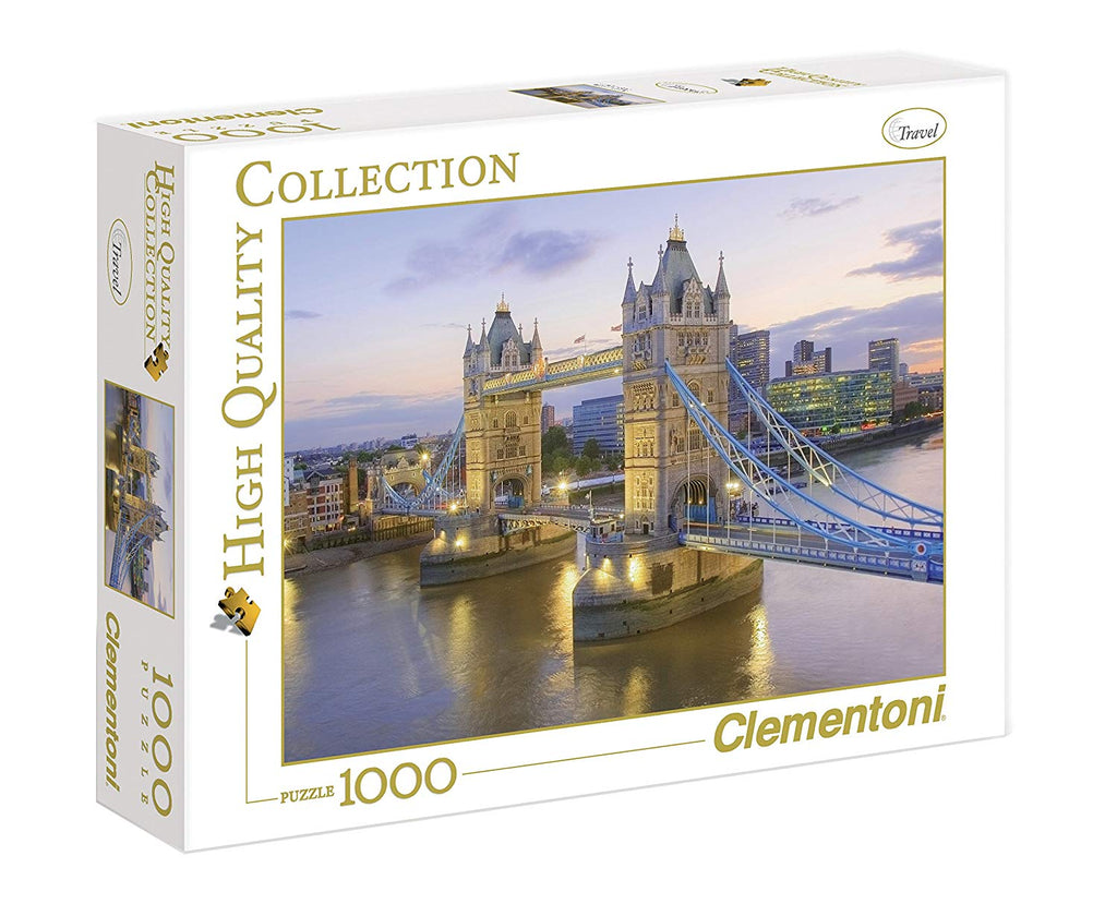 Clementoni - 390229 | Tower Bridge, London (1000 Piece Puzzle)