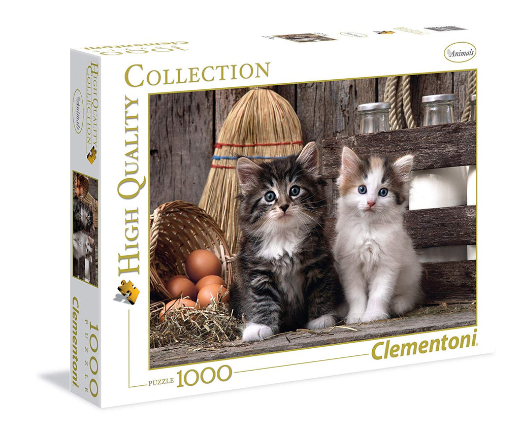 Clementoni - 393404 | Lovely Kittens (1000 Piece Puzzle)