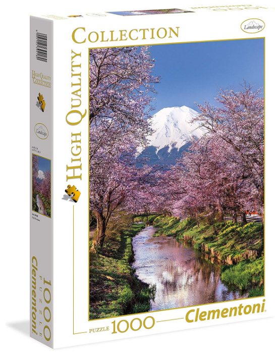 Clementoni - 394180 | Fuji Mountain (1000 Pc Puzzle)