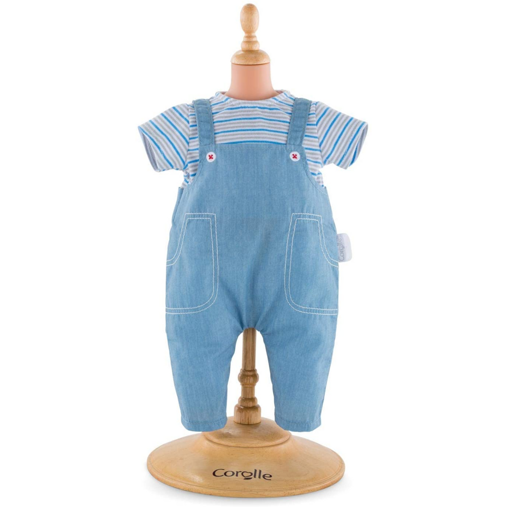 "Products Corolle - 110370 | 12"" T-Shirt & Overalls"