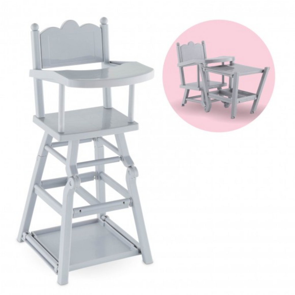 "Corolle - 140170 | High Chair For 14"" & 17"" Doll"