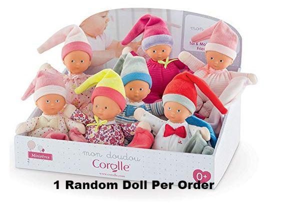 Corolle - CJB91 | Mini Reves Assorted Soft Baby Doll