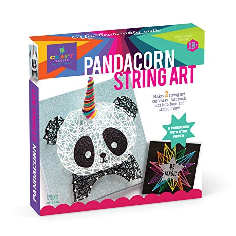 Craft-Tastic - AW024 | String Art Pandacorn