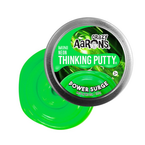 Crazy Aaron's Thinking Putty - PE003 | Mini Neon: Power Surge