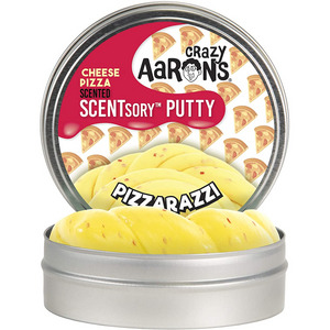 Crazy Aaron's Thinking Putty - SCNPZ055 | Pizzarazzi Cheese Pizza Scented