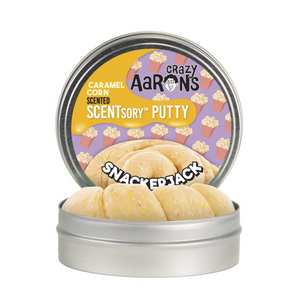 Crazy Aaron's Thinking Putty - SCNSJ055 | Crazy Aaron's Caramel Corn Scentsory Putty