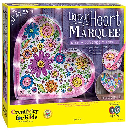 Creativity for Kids - 6101005 | Light-Up Heart Marquee