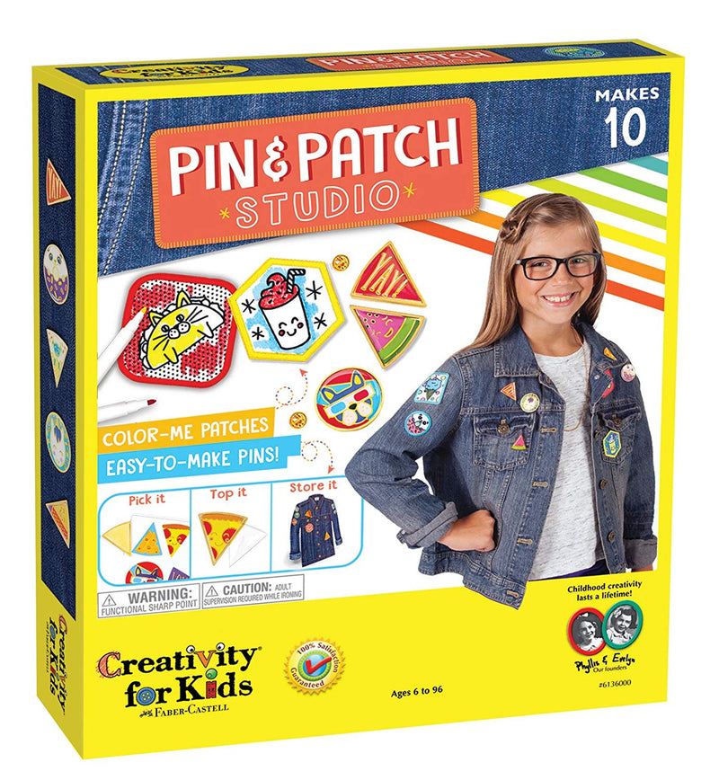 Creativity for Kids - 6136005 | Pin & Patch Studio