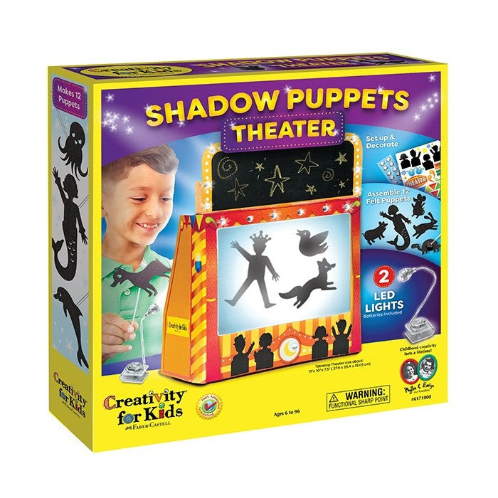Creativity for Kids - 6171000 | Shadow Puppets Theater