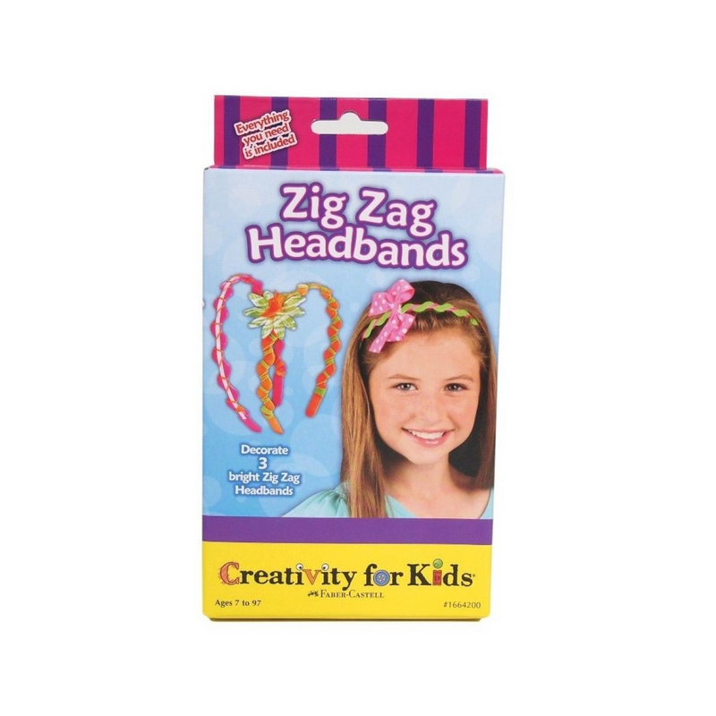 Creativity for Kids - 1664005 | Zig Zag Headbands