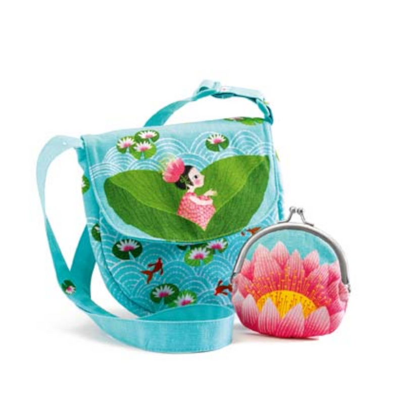 Purse and Coin Pouch Miss Waterlily