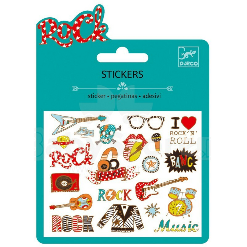Mini Stickers - Pop and Rock