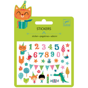 DJECO - DJ09773 | Mini Stickers Birthday