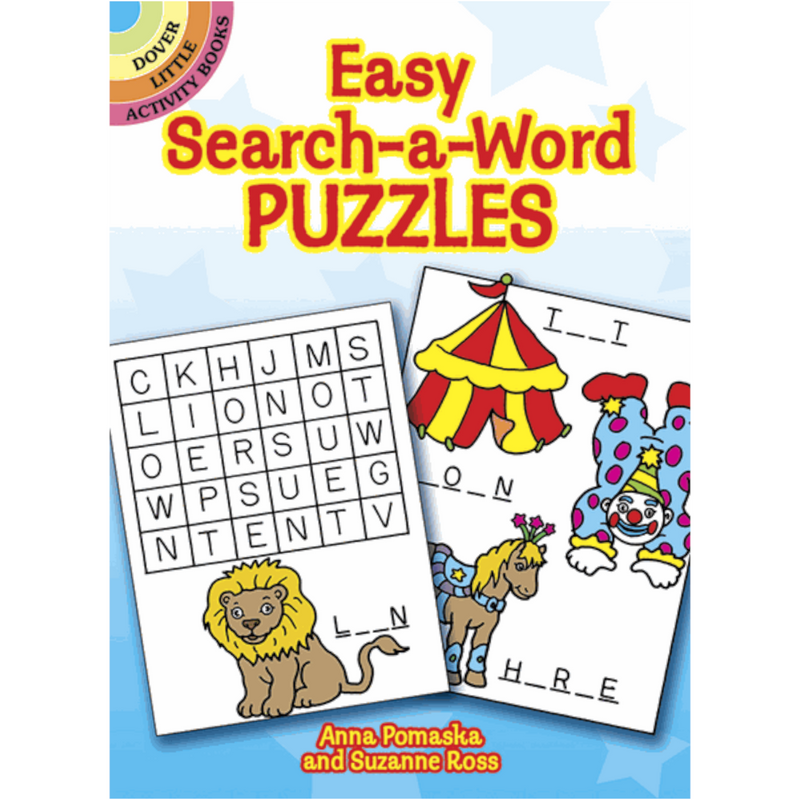 Dover Storybooks - 266725 | Easy Search-A-Word Puzzles
