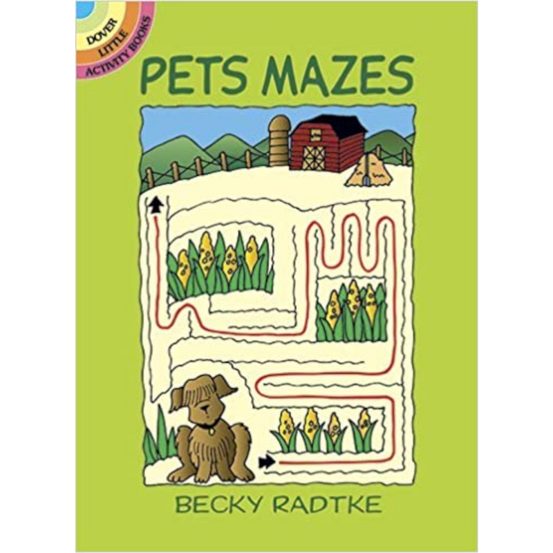 Dover Storybooks - 435244 | Pets Mazes Activity Book
