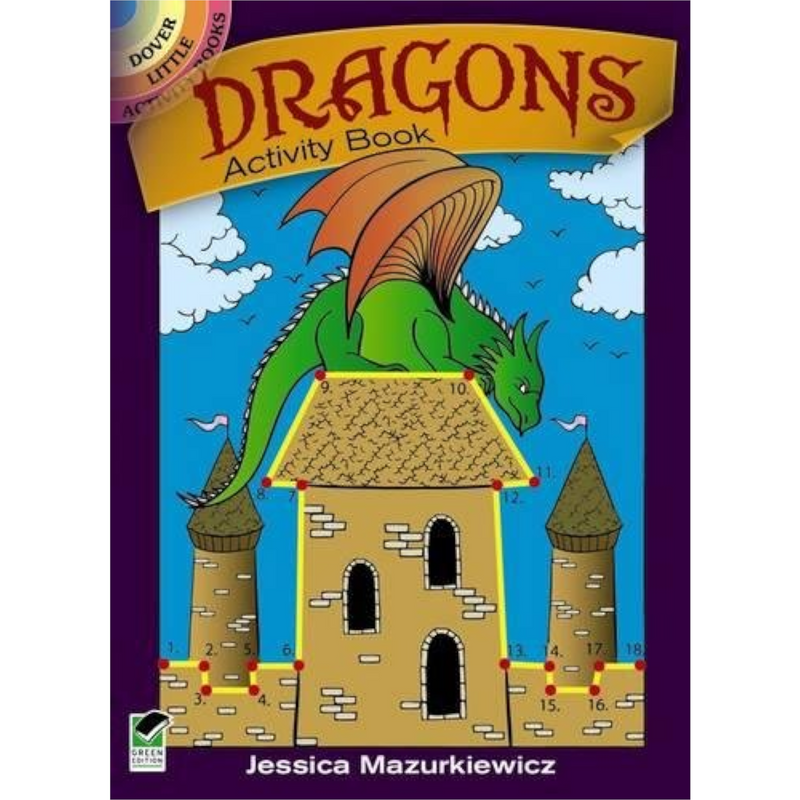 Dover Storybooks - 475219 | Dragons Activity Book