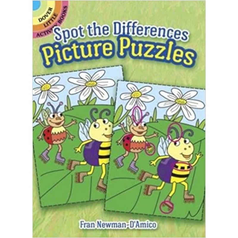 Dover Storybooks - 781822 | Spot The Difference Picture Puzzle Book