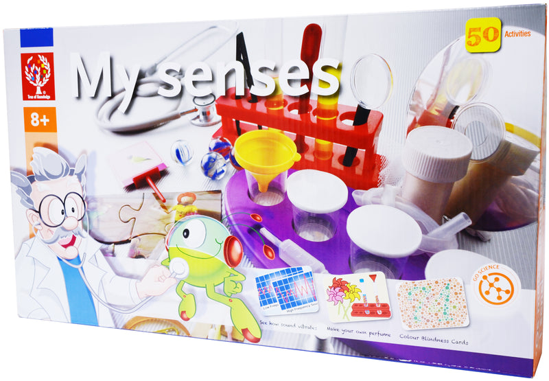 Elenco - EDU7086 | My Senses: 50 Activities