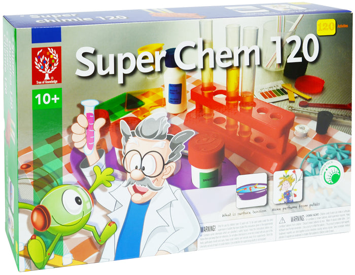 Elenco - EDU8355 | Super Chem - 120 Activities - Educational Chemistry Science Kit