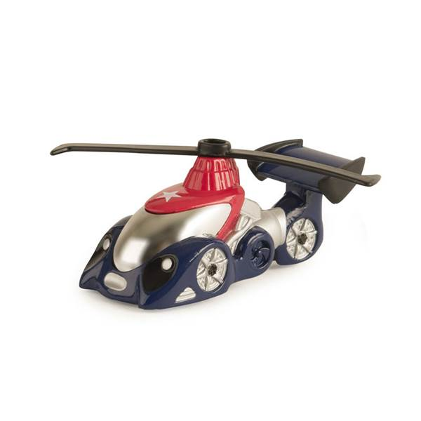 ERTL - 46579 | Helicopter, Red/Blue