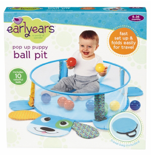 Earlyears - E00385 | Pop Up Puppy Ball Pit