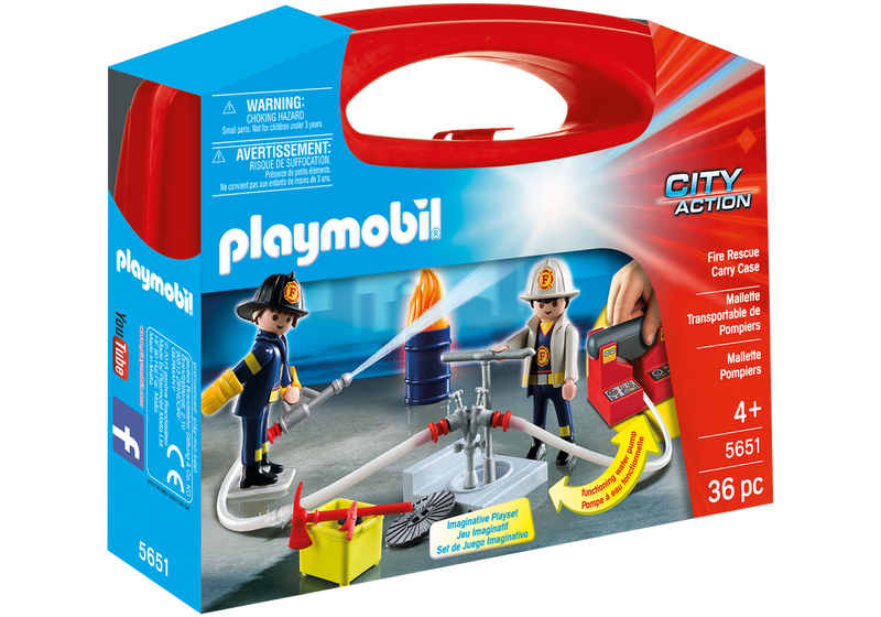Playmobil - 5651 | City Action: Fire Rescue Carry Case