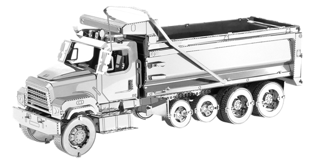 Fascinations - MMS146 | Metal Earth: Freightliner 114SD Dump Truck