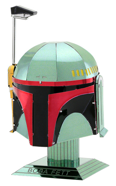 Fascinations - MMS315 | Metal Earth Star Wars Boba Fett Helmet