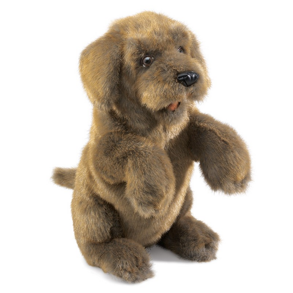 Folkmanis Puppets - 2006 | Sitting Dog Puppet