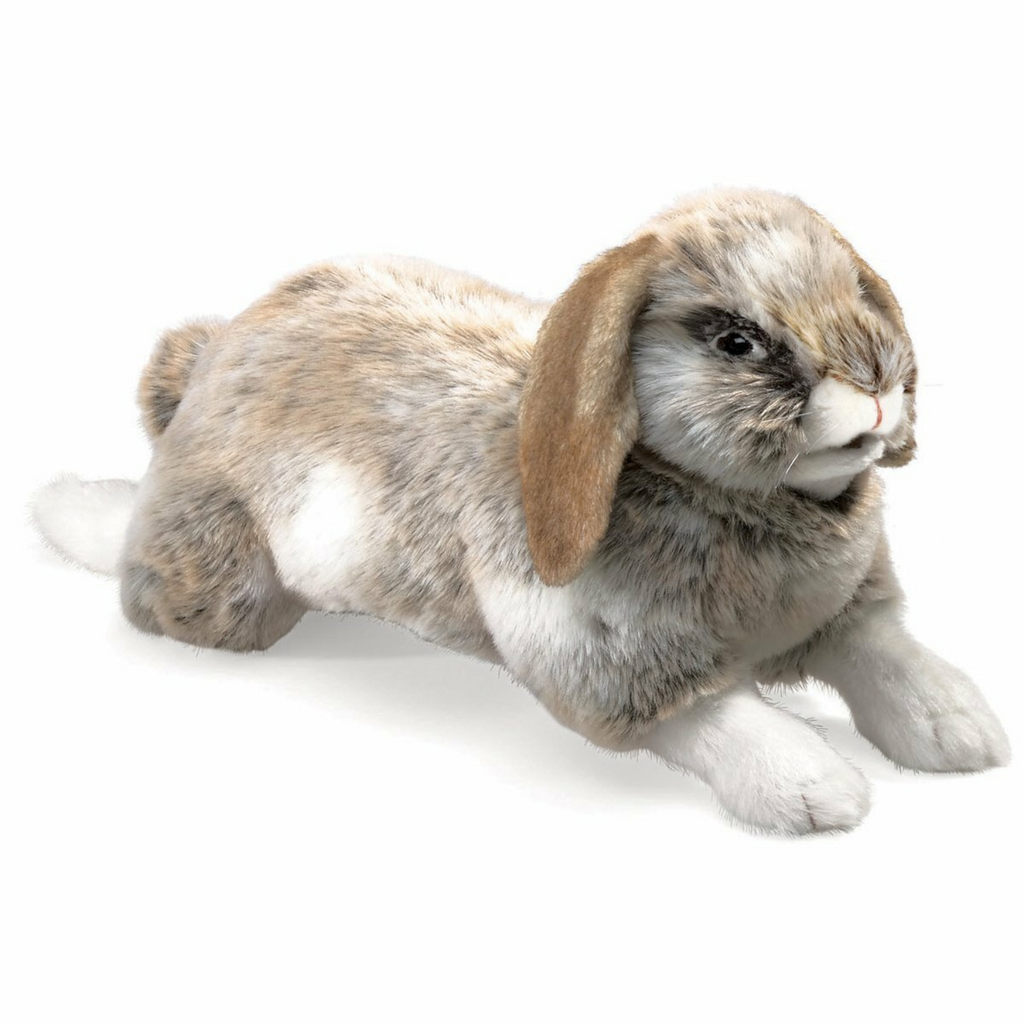 Folkmanis Puppets - 2892 | Holland Lop Rabbit Puppet
