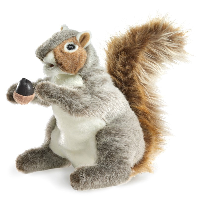 Folkmanis Puppets - 2553 | Gray Squirrel Puppet