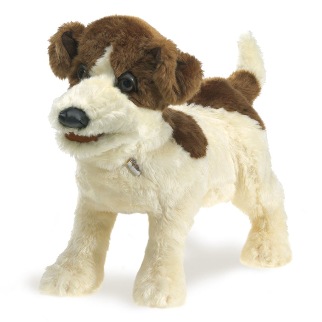 Folkmanis Puppets - 638348028488 | Jack Russell Terrier Puppet