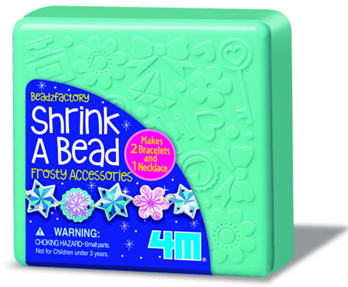 4M - 04696 | Shrink A Bead: Shrink Art Frosty Beads Make Jewellery
