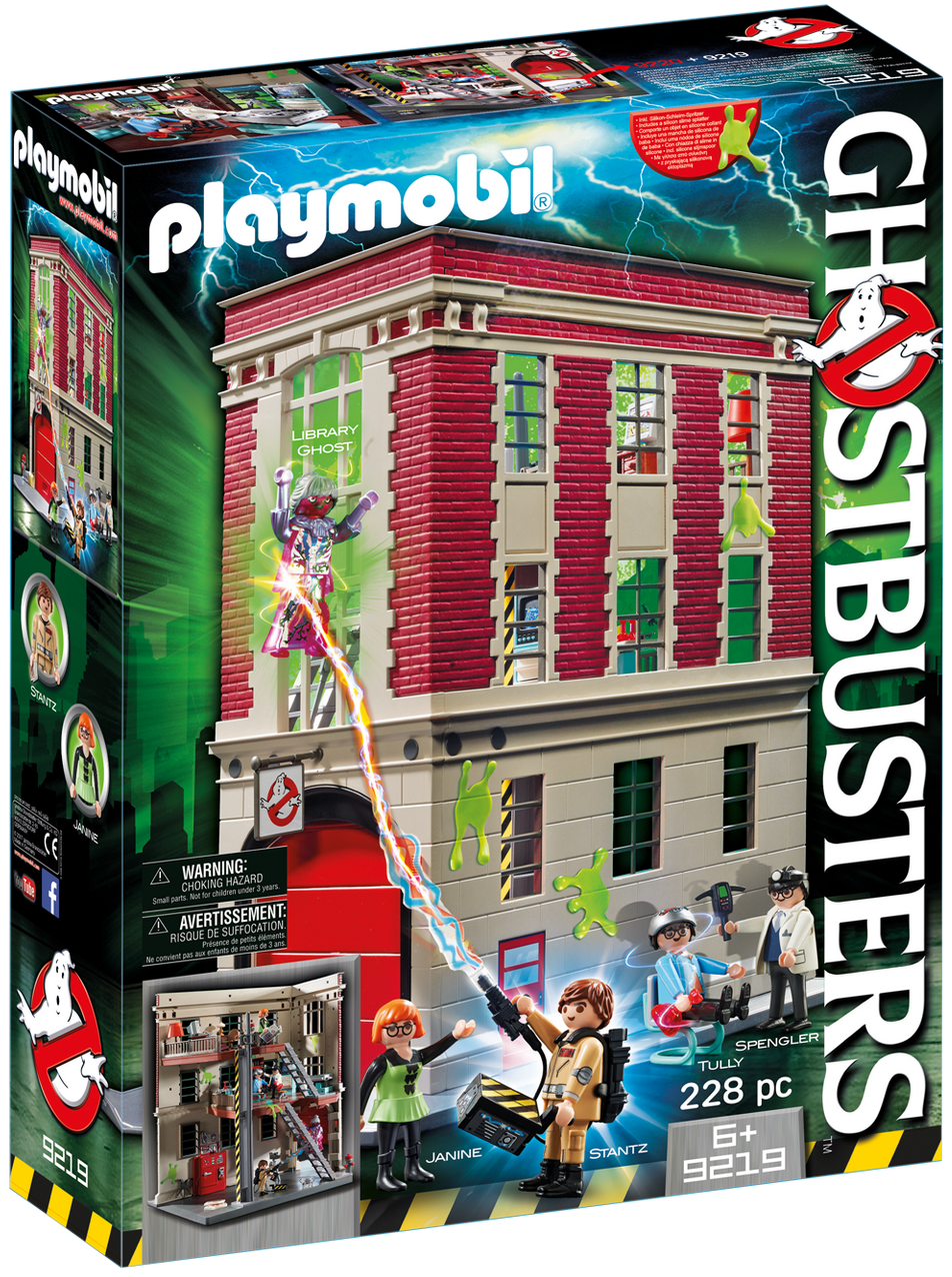 Playmobil Ghostbusters Firehouse - 9219