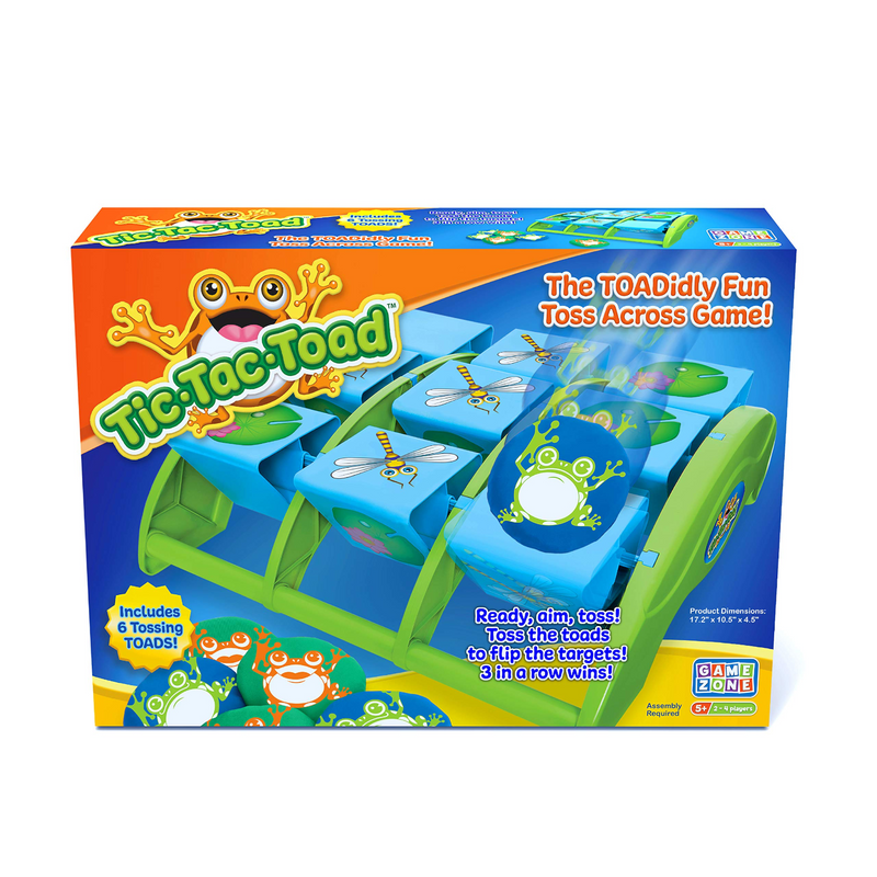 Game Zone - P25135 | Tic Tac Toad Game