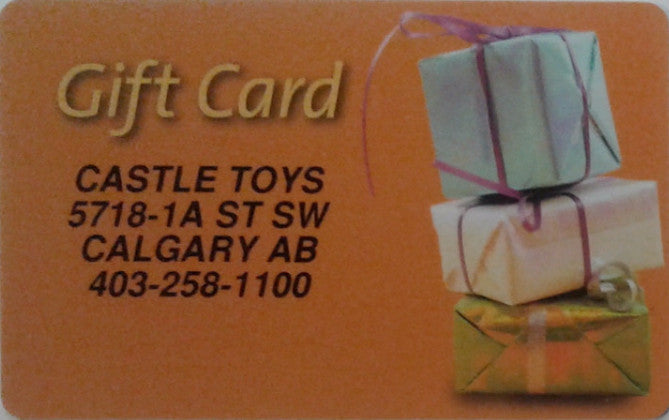 Castle Toys Gift Card